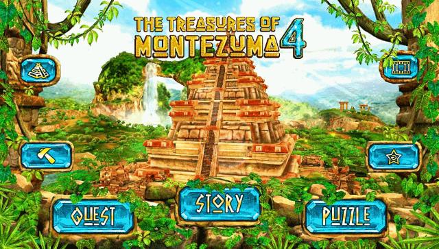 The Treasures of Montezuma 4 ゲーム画面1