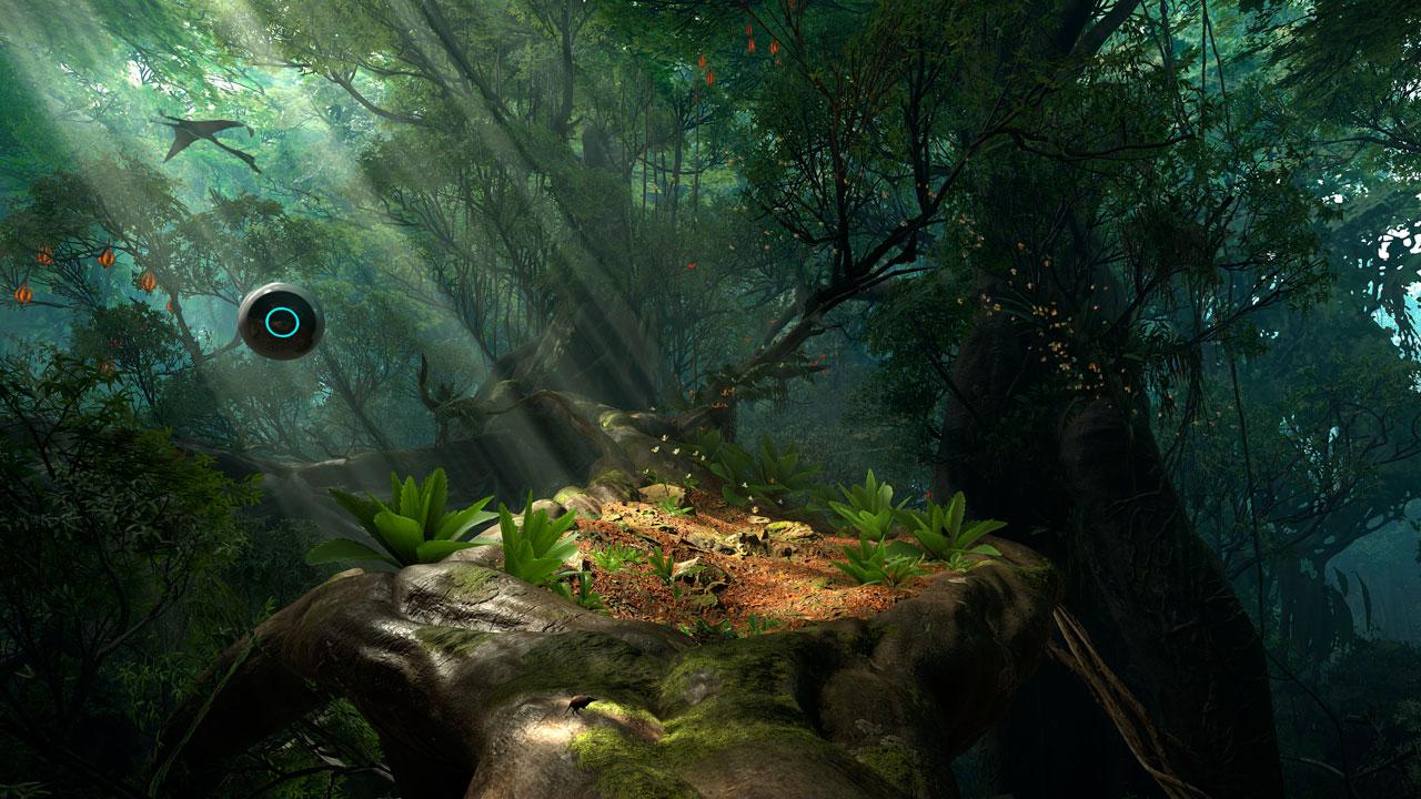 『ROBINSON: THE JOURNEY』ゲーム画面