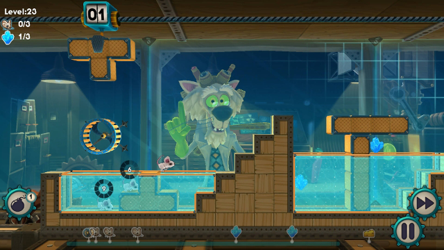Mousecraft ゲーム画面1