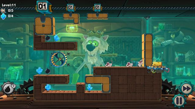 Mousecraft ゲーム画面2