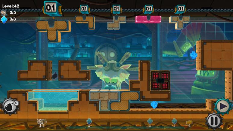 『Mousecraft』ゲーム画面