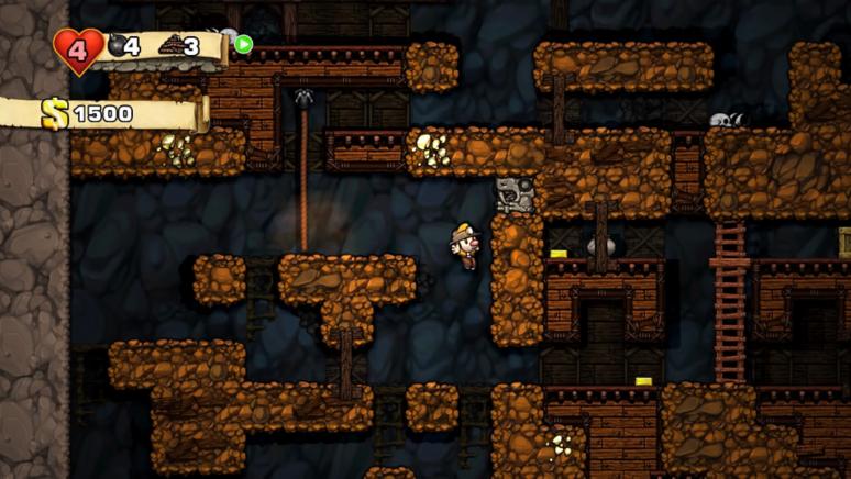 『Spelunky』ゲーム画面