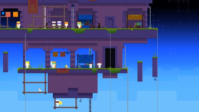FEZ ゲーム画面1