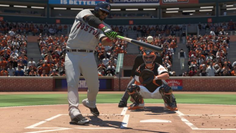 『MLB THE SHOW 16』ゲーム画面