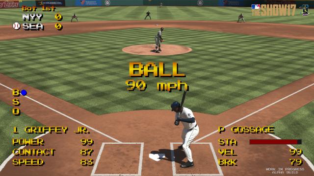 MLB THE SHOW 17(英語版) ゲーム画面3