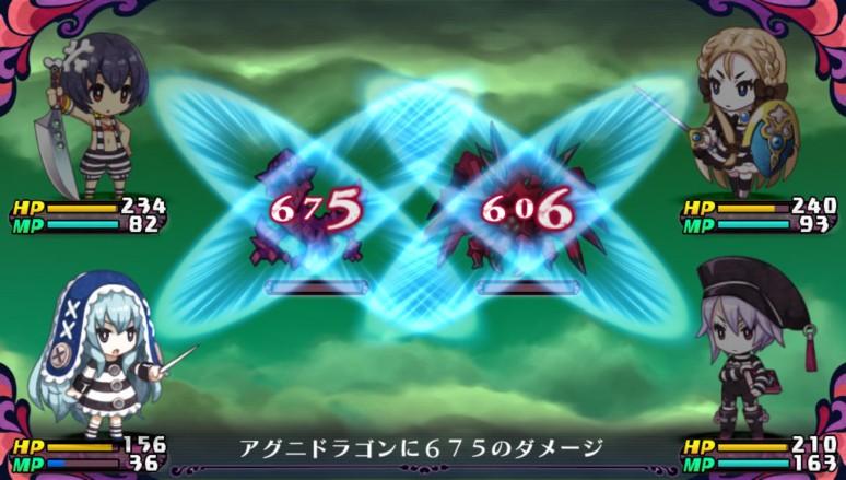 『クリミナルガールズ2』ゲーム画面