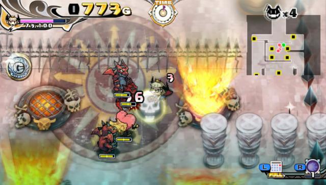 プリンセスは金の亡者 ゲーム画面2