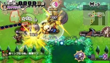 『プリンセスは金の亡者』ゲーム画面