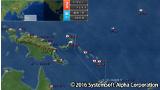 太平洋の嵐~皇国の興廃ここにあり、1942戦艦大和反攻の號砲~ ゲーム画面1