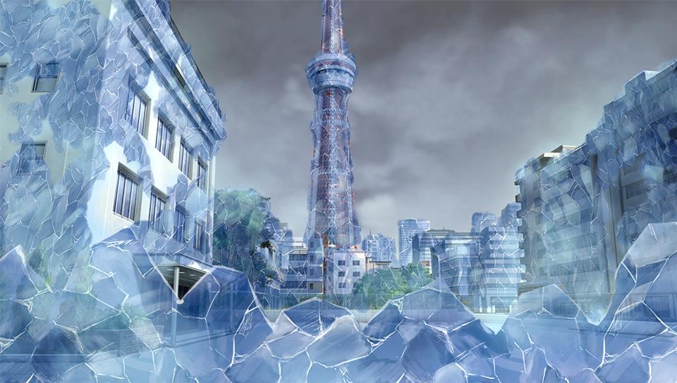 『終わる世界とバースデイ』ゲーム画面