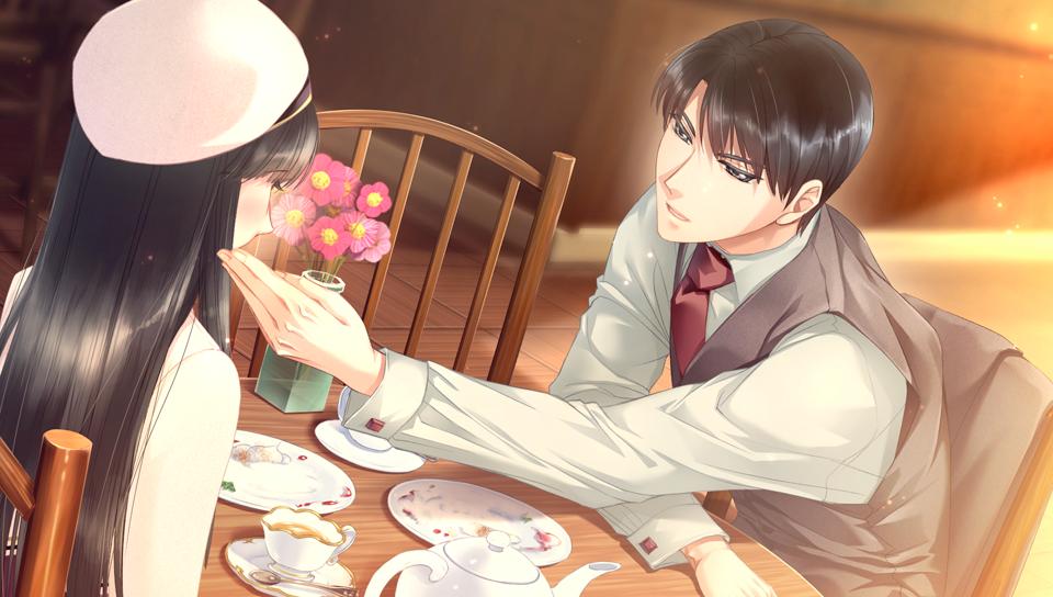 『鳥籠のマリアージュ ~初恋の翼~』ゲーム画面