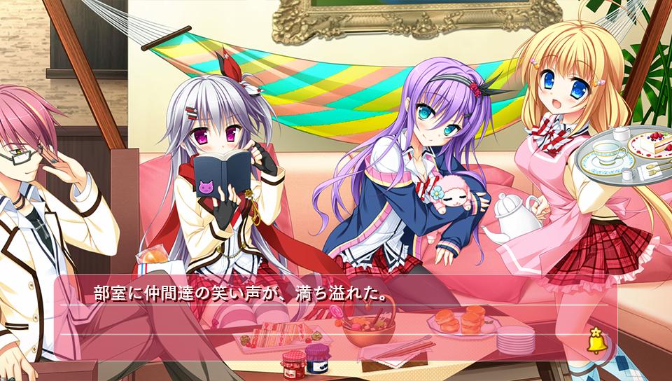 『花咲ワークスプリング!』ゲーム画面