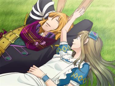『新装版 ハートの国のアリス』ゲーム画面