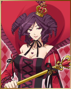 ハートの女王 ビバルディ(CV:甲斐田 裕子)