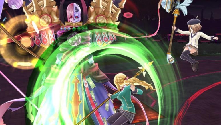 『激次元タッグ ブラン+ネプテューヌVSゾンビ軍団』ゲーム画面