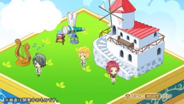 『神々の悪戯 InFinite』ゲーム画面