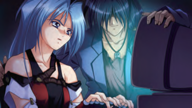 『EVE burst error R』ゲーム画面