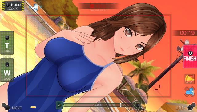 レコラヴ Gold Beach ゲーム画面7