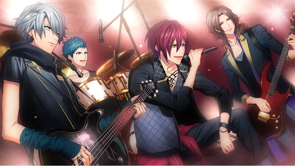 『DYNAMIC CHORD feat.KYOHSO V edition』ゲーム画面