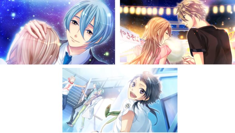 『Starry☆Sky~Summer Stories~』ゲーム画面