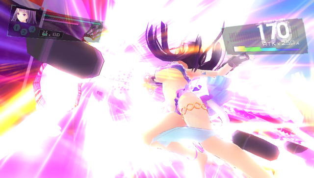 VALKYRIE DRIVE -BHIKKHUNI- Bikini Party Edition ゲーム画面5