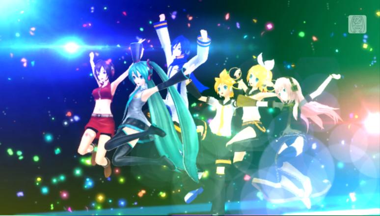 『初音ミク -Project DIVA- F 2nd お買い得版』ゲーム画面