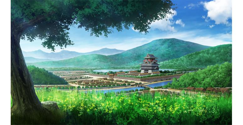 『花朧 ~戦国伝乱奇~』ゲーム画面