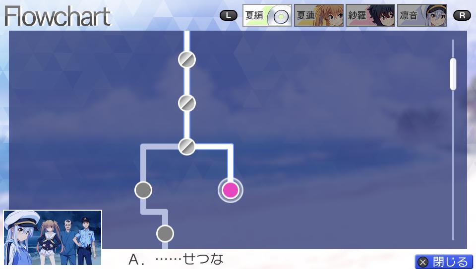 『ISLAND』ゲーム画面