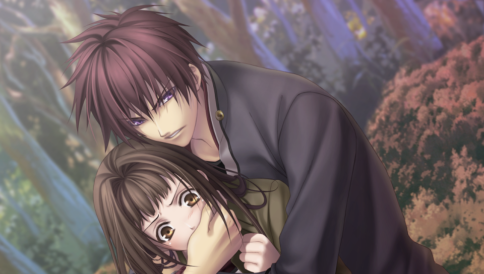 『緋色の欠片 ~おもいいろの記憶~』ゲーム画面