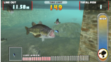 Let's Try Bass Fishing FISH ON NEXT ゲーム画面2