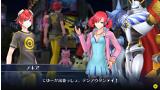 デジモンストーリー サイバースルゥース ゲーム画面1