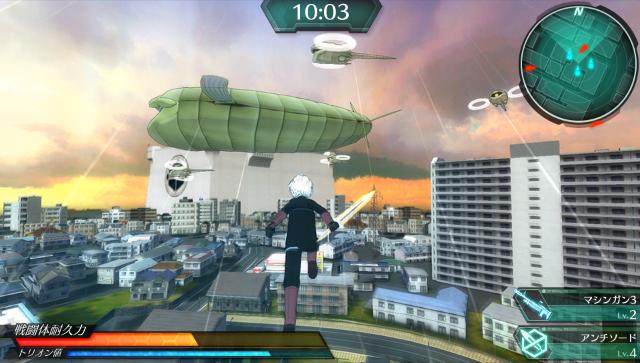 ワールドトリガー ボーダレスミッション ゲーム画面1