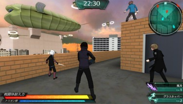 『ワールドトリガー ボーダレスミッション』ゲーム画面