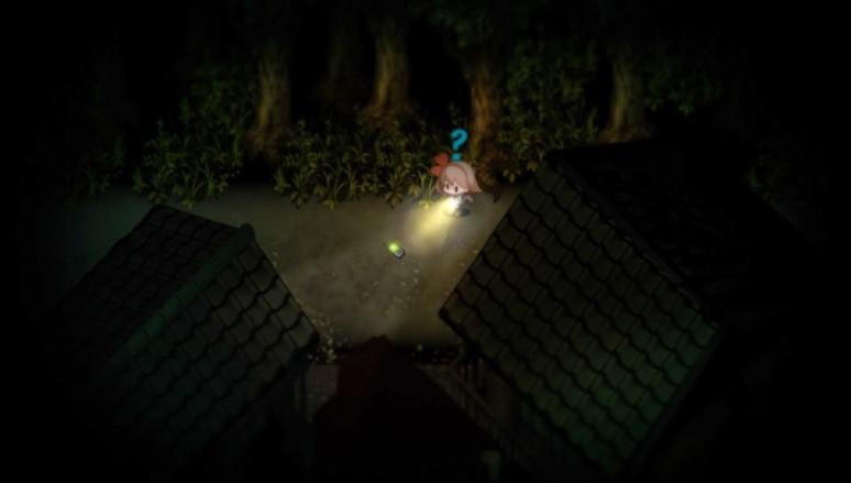 『夜廻』ゲーム画面