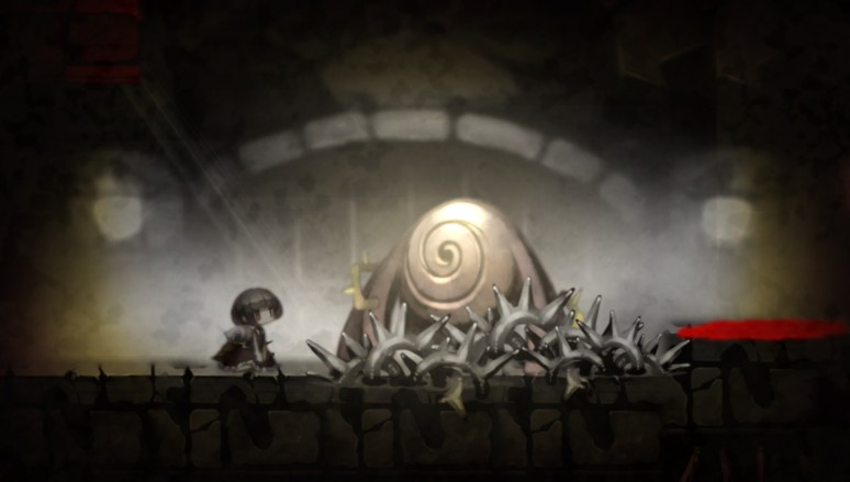 『ロゼと黄昏の古城』ゲーム画面