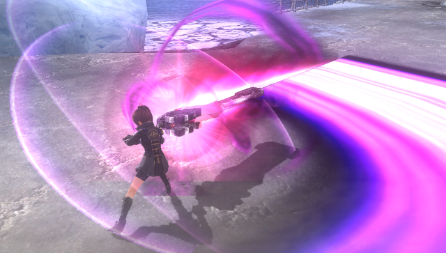 GOD EATER 2 RAGE BURST ゲーム画面7